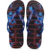 Hawkston Hawai-Globe-Red Slippers