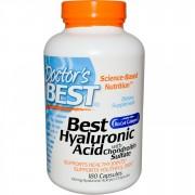 Doctor's Best, Best Hyaluronic Acid, cu Condroitin Sulfat, 180 Capsule + TRANSPORT GRATUIT