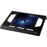 Охлаждаща поставка за лаптоп Hama Black Edition с вентилатор, USB - HAMA-53070