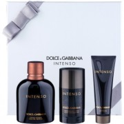 Dolce & Gabbana Pour Homme Intenso coffret III. Eau de Parfum 125 ml + desodorizante em stick 75 ml + gel de duche 50 ml