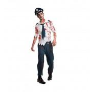Disfraz Hombre Policia Zombie Halloween - Car&Gus