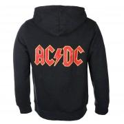 sweat-shirt avec capuche pour hommes AC-DC - Logo - ROCK OFF - ACDCZHD05MC