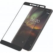 PanzerGlass Nokia 6 (2018) Screenprotector Glas Zwart