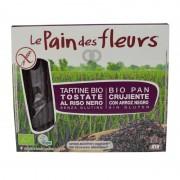 Le pain des fleurs Tostadas Pan De Flores Crujientes De Arroz Negro - 150 Gr - Le Pain Des Fleurs