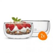 Zwilling - Dubbelwandig Dessertglas 280 ml - 2 stuks