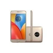 Smartphone Motorola Moto E4 Plus Dual Chip Android 7.1.1 Nougat Tela 5.5 Quad-Core 1.3GHz 16GB 4G Câmera 13MP - Ouro