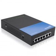 Router VPN Linksys LRT214, 1X WAN/1X DMZ/4X Gigabit Firewall