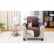 Odash Reversible Furniture Protector for Chair, Recliner, Loveseat, or Sofa Chair & Sofa Chocolate/Tan Brown