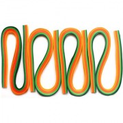 Quilling strips extra long 3MMX20INCH 400STRIPS-CITRUS