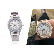 Solo Act Ltd £8.99 (from Styled By) for a Jessica rose crystal bezel watch - choose your colour!