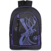 Classic Polyester School Bag  Shoulder Backpacks   Casual Bag for Girls & Boys 25 L Backpack(Black)
