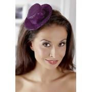 Fascinator Hut violett