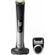 Aparat hibrid de barbierit si tuns barba Philips OneBlade Pro QP652020 + Rezerve OneBlade QP22050 Verde Bonus Rucsac OneBlade Verde + Balsam NIVEA Sensitive MEN