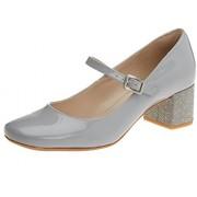 Clarks Women's Chinaberry Pop Blue Leather Fashion Sandals - 3.5 UK/India (36 EU)