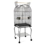i.Pet Large Bird Cage with Perch - Black [PET-BIRDCAGE-A100-BK]