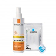La Roche-Posay Anthelios Xl Spray Ultra Leggero Spf 50+ Con My Uv Patch (200ml)