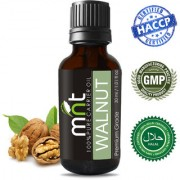 MNT Walnut Cold Pressed Carrier Oil (30Ml) 100% Pure Natural & Therapeutic Grade & Aromatherapy for Hair Care and Skin Care