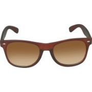 SPY RAYS COLLECTION Wayfarer Sunglasses(Brown)