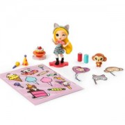 Игрален комплект Party Popteenie - Кукла с животно, асортимент, 872093