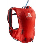 Salomon Skin Pro 10 Set - zaino trail running - Red/Grey