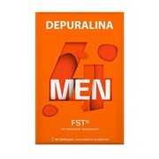 4 men para queima de gordura e aumento da massa muscular 60caps - Depuralina