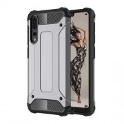 Huawei P20 Pro Full-body Rugged TPU + PC Combination Back Cover Case (Grey)