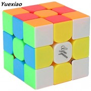 Kingcube Moyu Guoguan Yuexiao 3x3 Stickerless magic cube 3x3x3 color speed cube puzzle