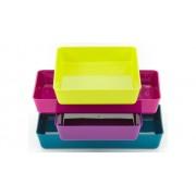 Betzold Materialschalen in modernen Farben, 4 Stück, Grösse wählbar