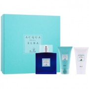Acqua dell' Elba Blu Men lote de regalo III eau de toilette 100 ml + gel de ducha 50 ml + crema corporal 50 ml