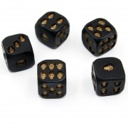 Creativo Skull Bones Dice Seis lados esqueleto dados Club Pub Party Game