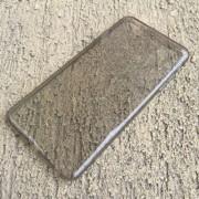 Husa iPhone 6 Plus 6S Plus Super Slim 0.5mm Silicon TPU Gri Fumurie