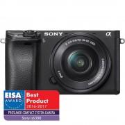 Sony A6300 Aparat Foto Mirrorless 24MP APSC 4K Kit cu Obiectiv 16-50 F/3.5-5.6 OSS Negru