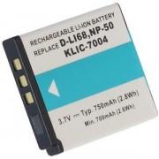 Fujifilm KLIC-7004 för Fujifilm, 3.6V (3.7V), 750 mAh