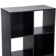 HomCom® Armário com Estantes de Pé 6 Cubos 91.5x29.5x91.5cm Madeira