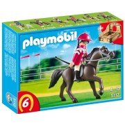 Playmobil Arabian Horse with Jockey and Stable, Multi Color
