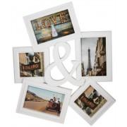 Jysk Partivarer Fotoram med plats till 5 bilder -Snygg vit färg