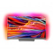 Televizor LED Philips 49PUS8503/12, 123 cm, 4K Ultra HD, Smart TV, Android Nougat, Wi-Fi, Argintiu