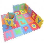 Ardisle XL Large Alphabet Play Mat Baby Kids Soft Eva Foam Jigsaw Puzzle Floor Gift Learning Idea Interlocking Coloured Block Building Crawl Crawling Pen Activity Educational Gym Child
