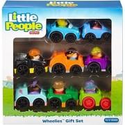 Fisher Price Little People Wheelies Gift Set