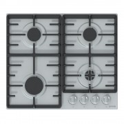 Инокс Дизайн на копчетата: Ергономични бутони Опорен елемент за тиган Електрическо запалване на газовите котлони
