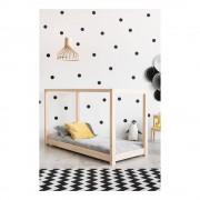 Adeko Domečková postel z borovicového dřeva Adeko Mila KM, 140 x 190 cm