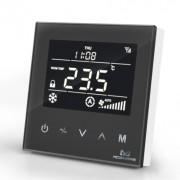 MCO Home - Fan Coil Thermostat (2 тръби) - черен