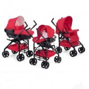Kolica trio sistem (kolica+autosedište+nosiljka) Chicco Trio Sprint red passion