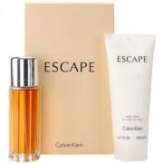 Calvin Klein Escape coffret III. Eau de Parfum 100 ml + leite corporal 200 ml