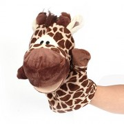 B&Y Zoo Animal Puppet Set Moveable Mouths,Easy For Children And Caregivers To Role Play Together Giraffe