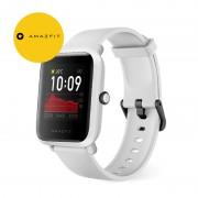Ceas smart Amazfit BIP S 2020, waterproof, 40 zile autonomie, GPS Sony, Biotracker PPG, bluetooth 5.0, alb