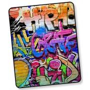 Good Morning Plaid Graffiti