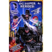 "DC Super Heroes - 1.75-2"" tall Micro figures with stand - Blind Bag Series figure - One Surprise fig"