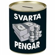 Sparbössa Svarta pengar