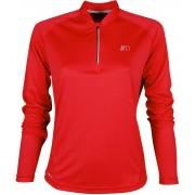 NEWLINE BASE Dámské běžecké tričko se zipem 13370-04 Červená XS